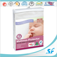 Hypoallergenic Waterproof Terry PU Mattress Protector